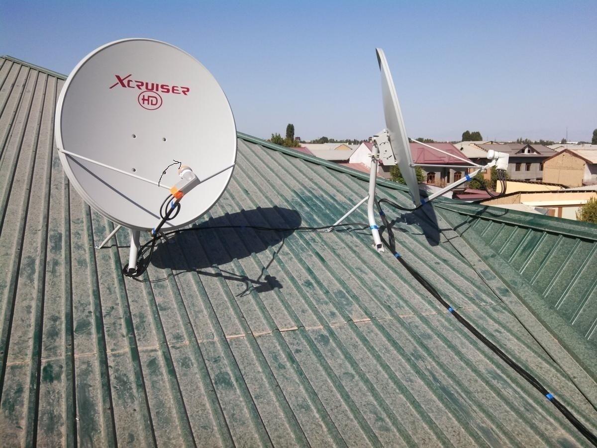 Настройка спутниковой антенны при помощи прибора Sat 52