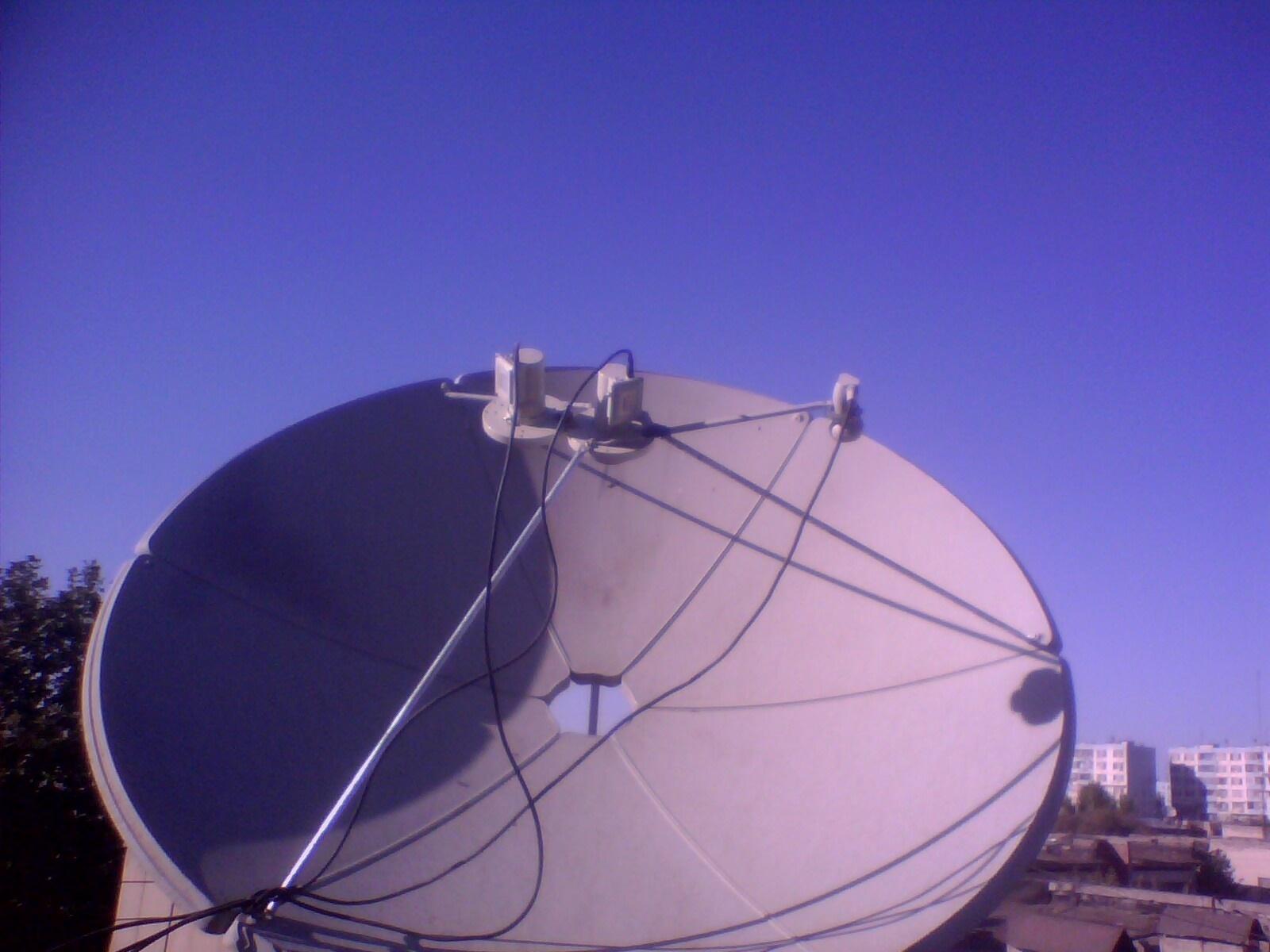 Телеантенны спутниковые своими руками