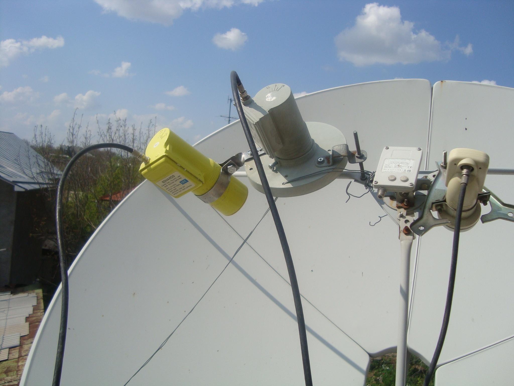 Спутников антенны своими руками 975