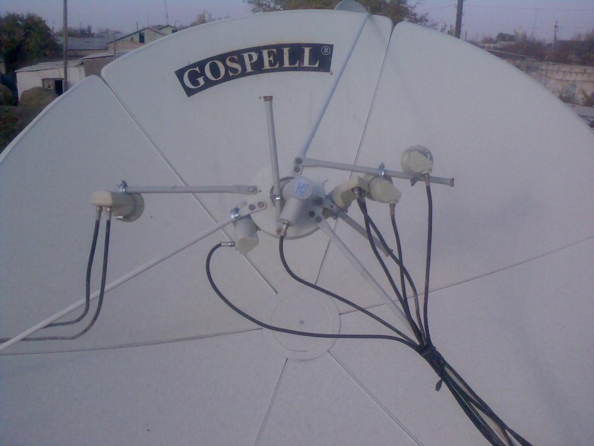 Крепление спутниковой антенны своими руками