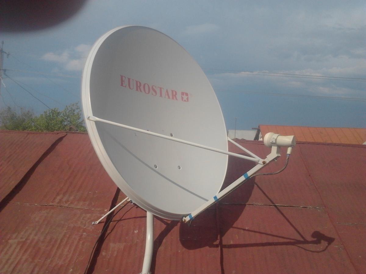 Установка спутникового своими руками
