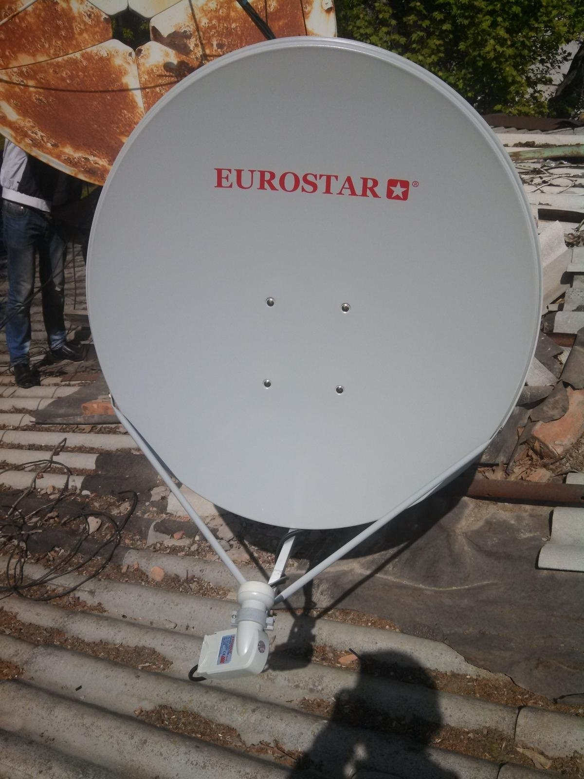 Как самому сделать спутниковую антенну Cпутниковая антенна 33