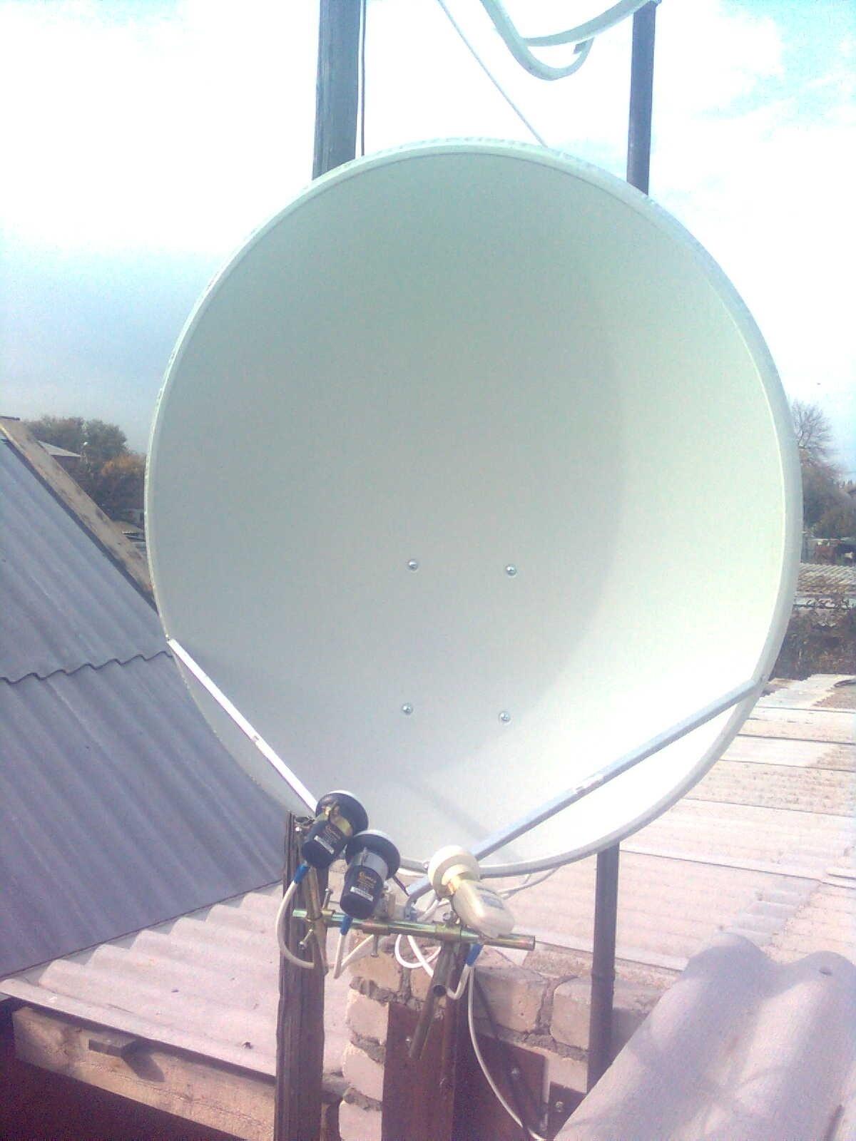 Как самому сделать спутниковую антенну Cпутниковая антенна 18