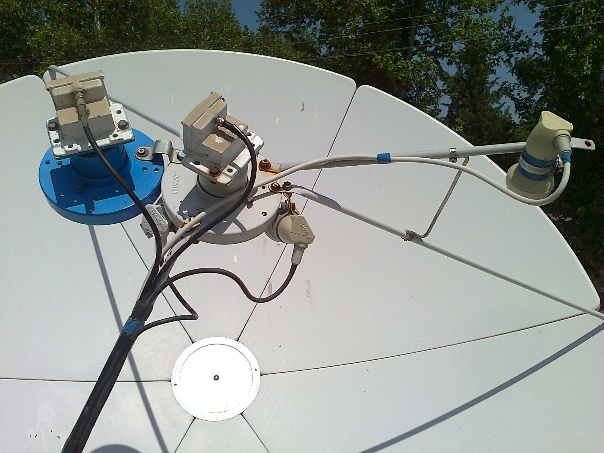 Установка спутниковой антенны в одессе своими руками 32