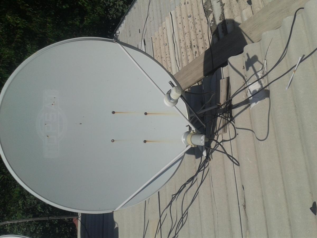 Замена конвертера на спутниковой тарелке