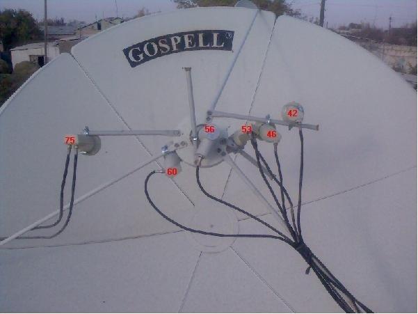 Установка спутниковой антенны в одессе своими руками 20